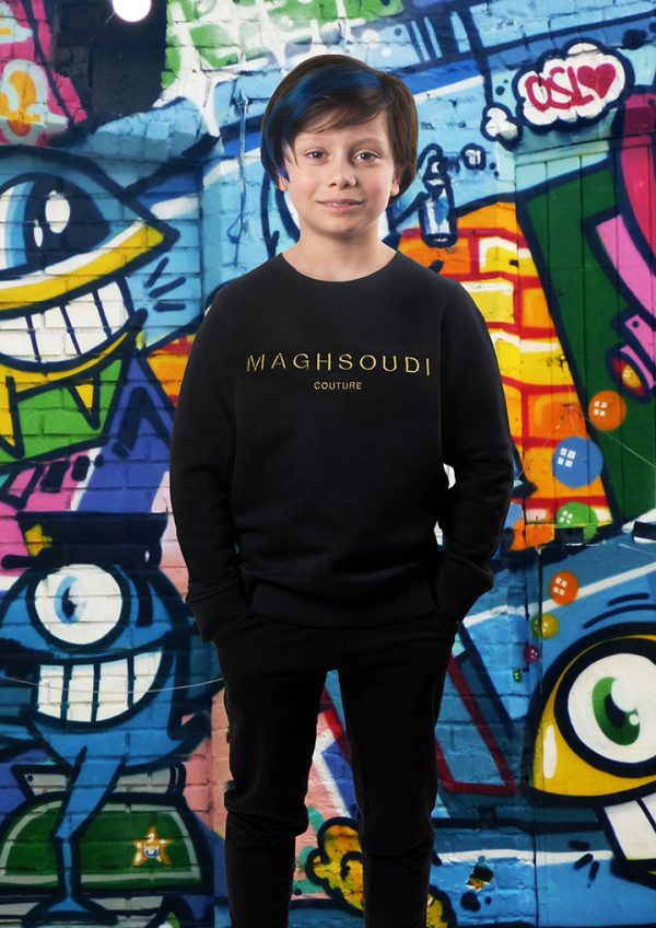 Sweater Sepehr Maghsoudi kids persian boys Embroidery 3d