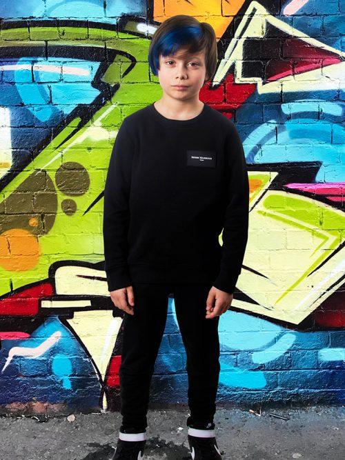 Sweater Maghsoudi kids persian boys rubber label